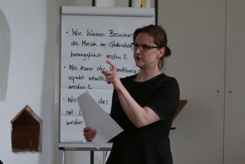 Musikvermittlung im Gottesdienst - Workshop mit Gottesdienst-Berater/innen