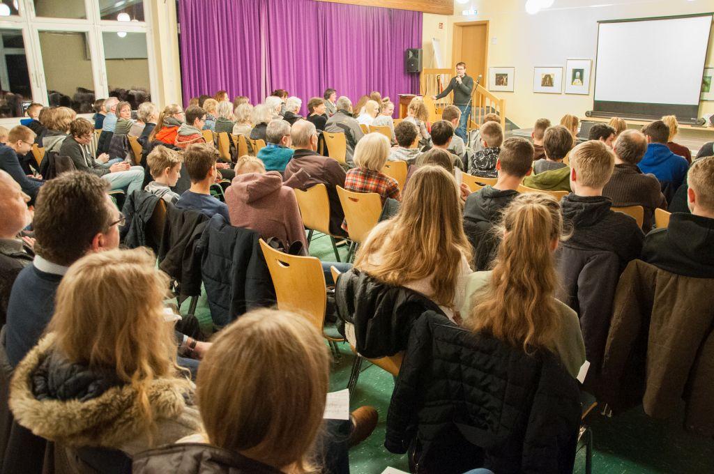 """Große Resonanz beim Einführungsabend der Schüler/innen für Haydns """"Missa in Angustiis"""""""