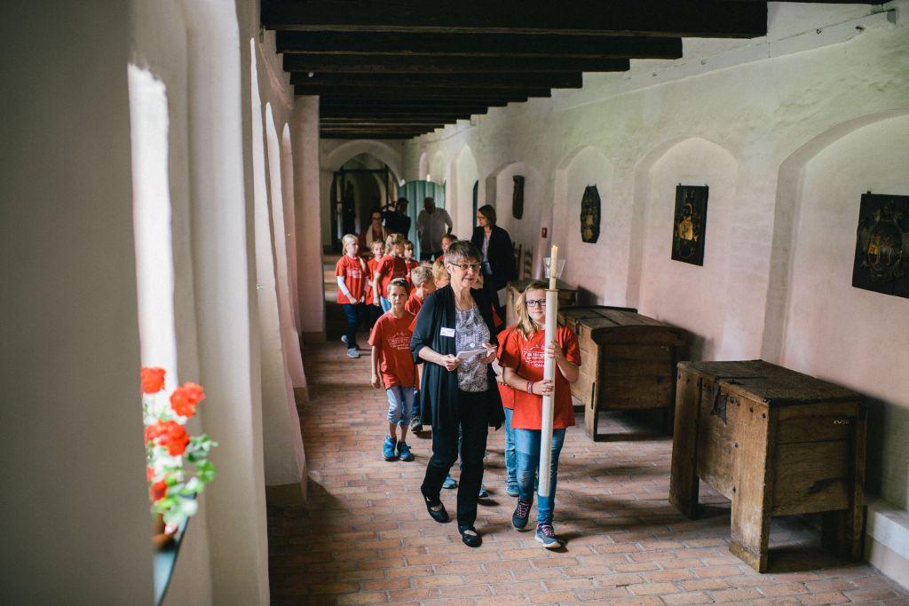 Liturgischer Rundgang durch das Kloster Wienhausen. Bild: Andreas Graf