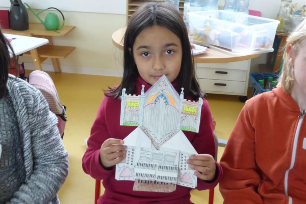 Eine Entdeckerorgel fürs Kinderzimmer. Bild: Christine Agena