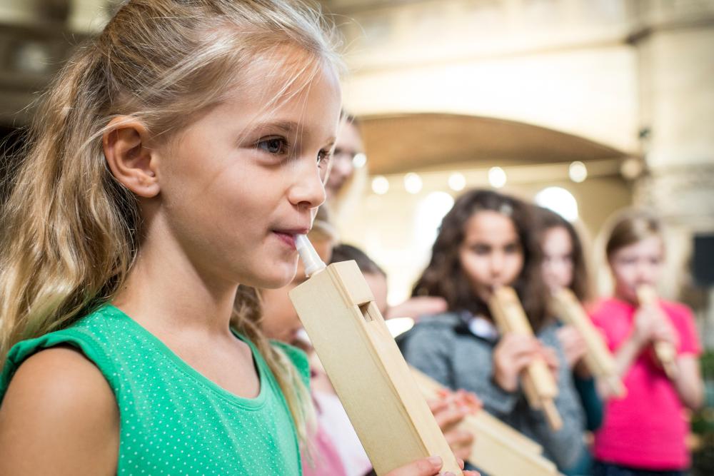 Orgelführung in der Markuskirche Hannover. Bild: VISION KIRCHENMUSIK