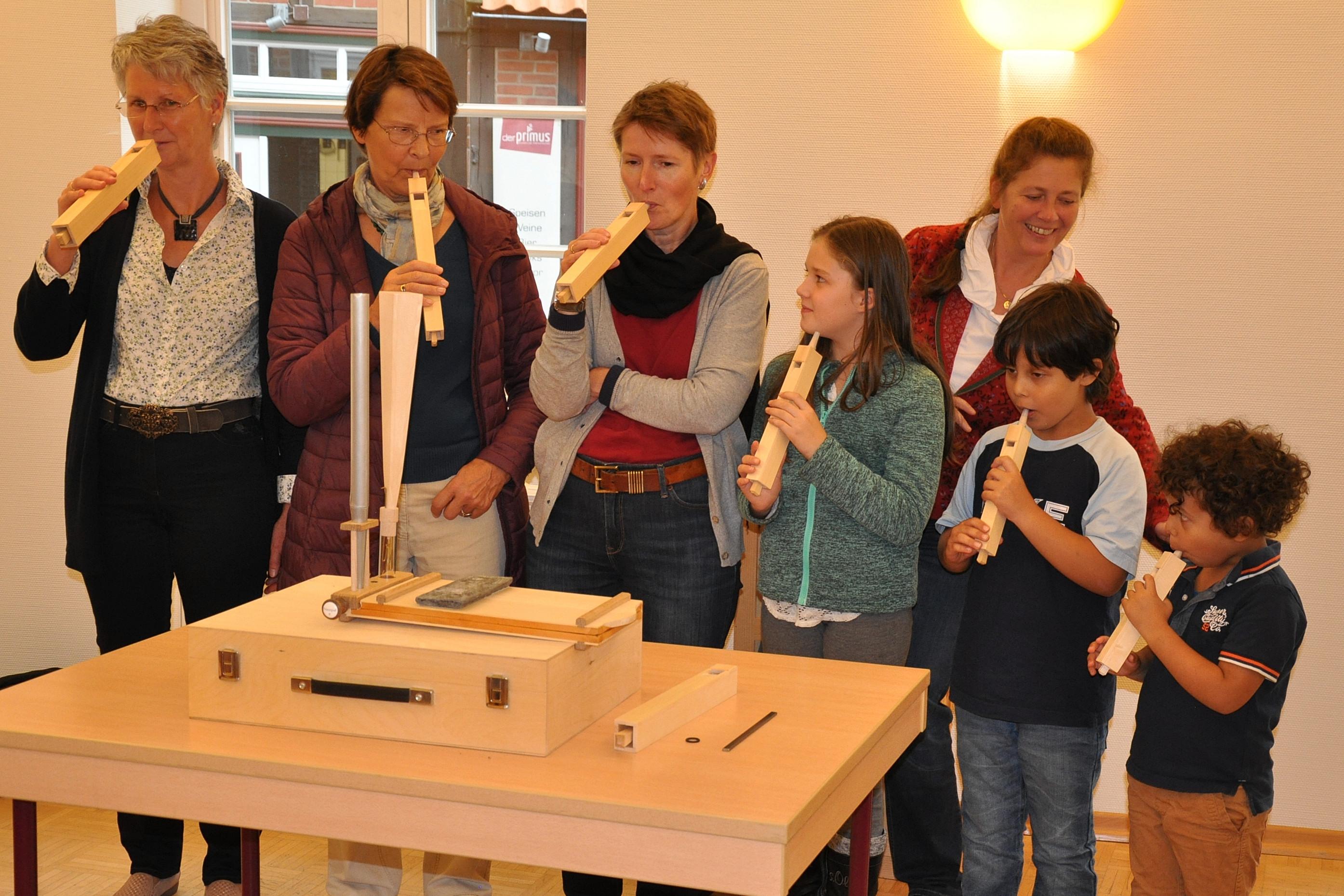 Orgelentdeckertage in Buxtehude. Bild: Karin Lankuttis