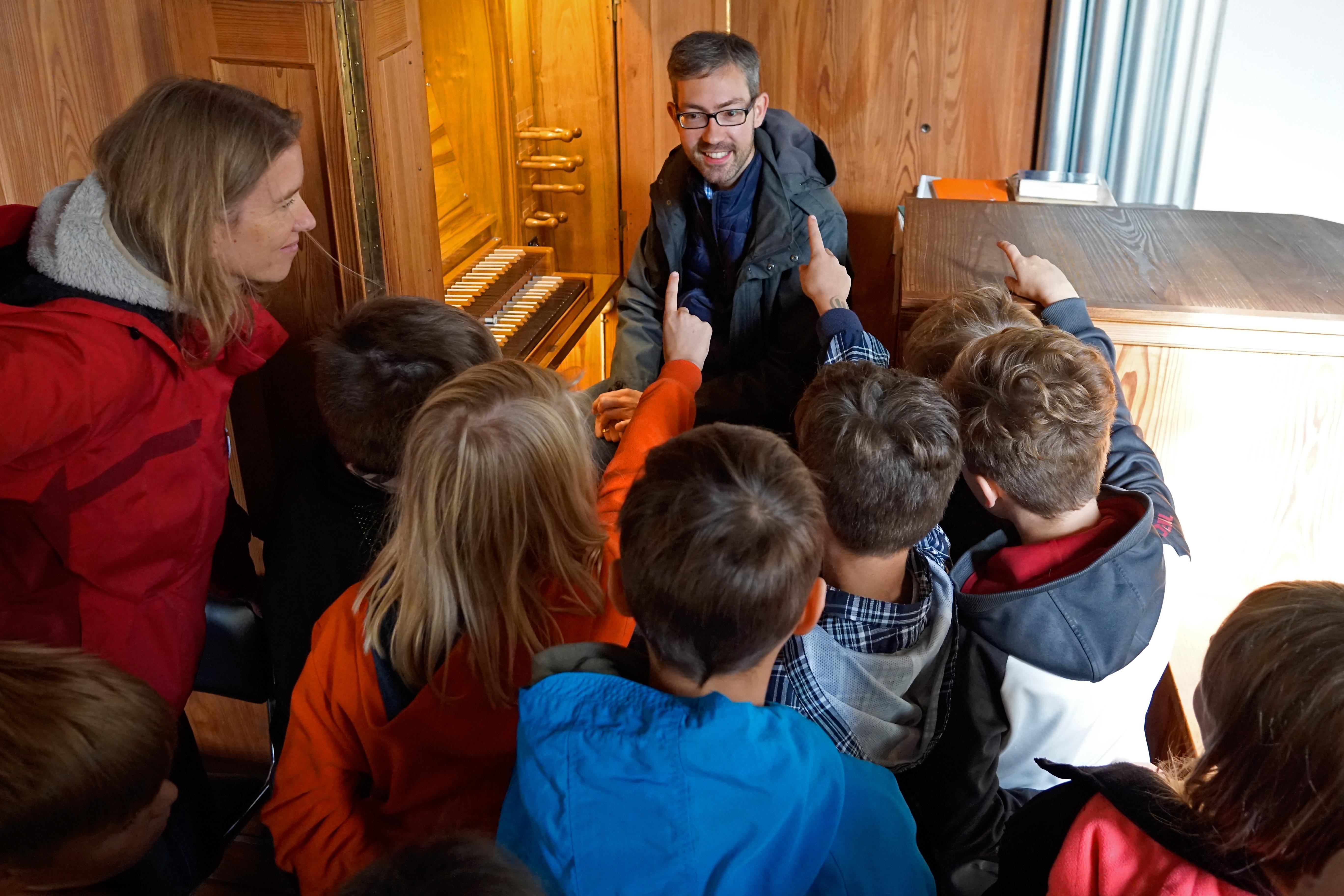 Orgelentdeckertag in Wesendorf. Bild: Marion Schuckart