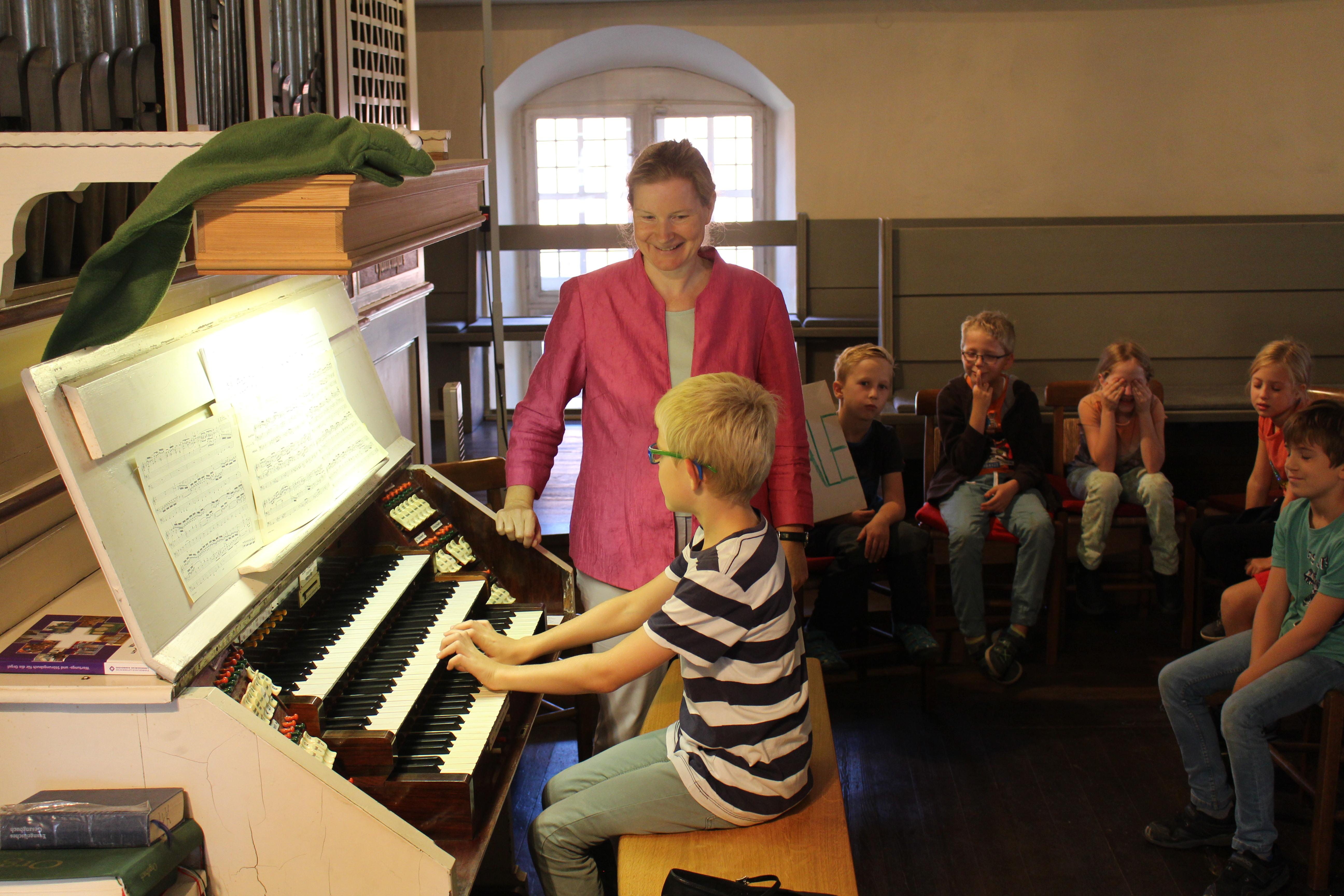 Orgelentdeckertage in Hankensbüttel. Bild: privat