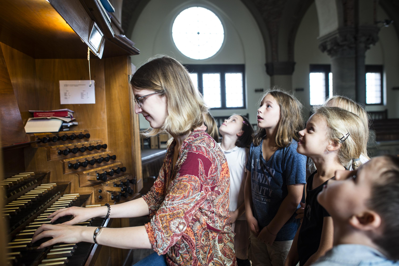 Orgelentdeckertage in Hannover. Bild: Anna-Kristina Bauer