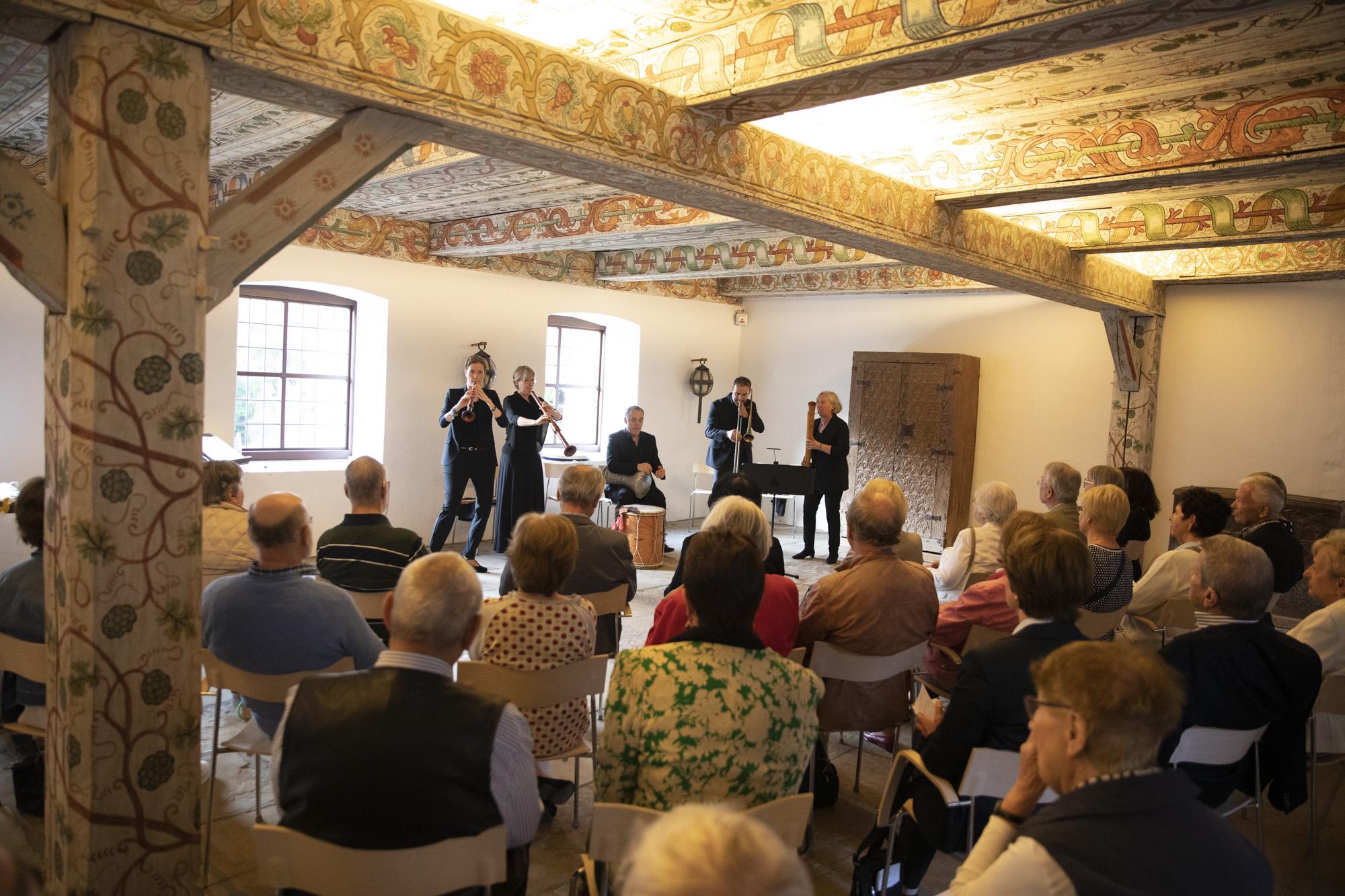 13 Capella de la Torre bei den KLOSTERSPAZIERGÄNGEN ZWISCHEN ALTER MUSIK & JAZZ im Kloster Wienhausen. Bild: Michael Heck